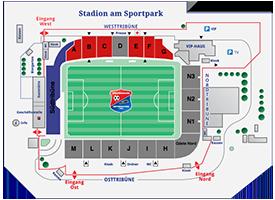 Alpenbauer Sportpark-Sitzplan