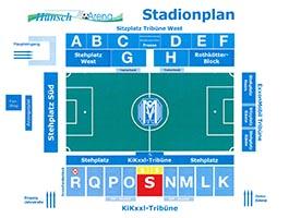 Hänsch Arena-Sitzplan
