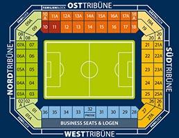 Ostseestadion-Sitzplan