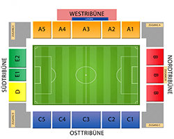GGZ Arena-Sitzplan