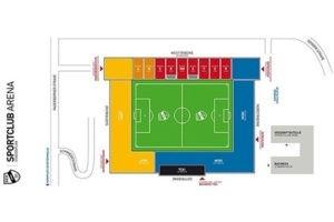 SPORTCLUB Arena-Sitzplan
